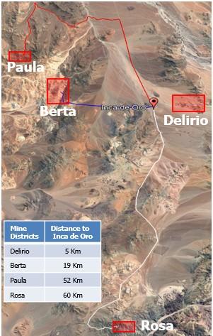 Mina y planta Delirio